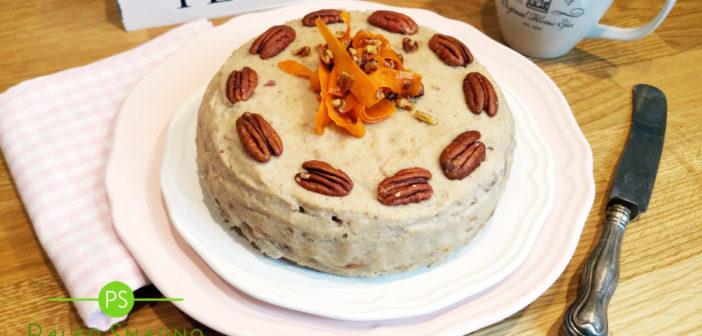 Mrkvovo oříškový dort