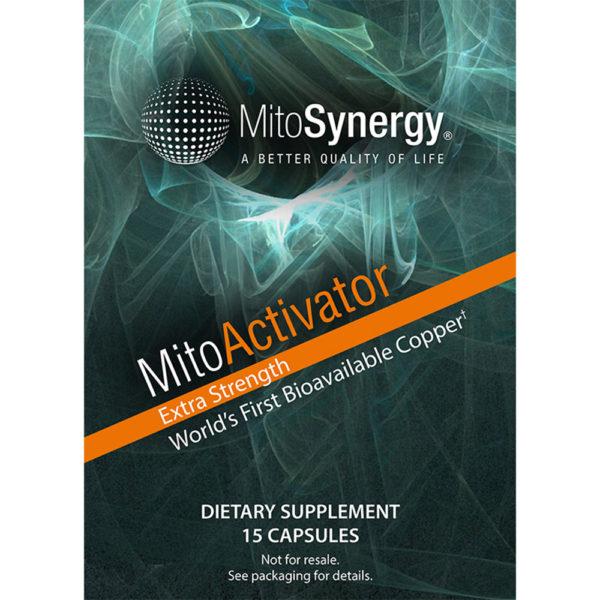 Mitoactivator Extra Strength -Bioaktivní měď pro pokročilé - TrialPack