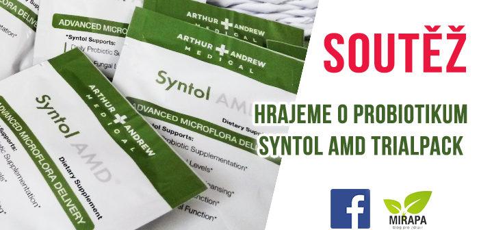 Soutěž o probiotika SYNTOL AMD