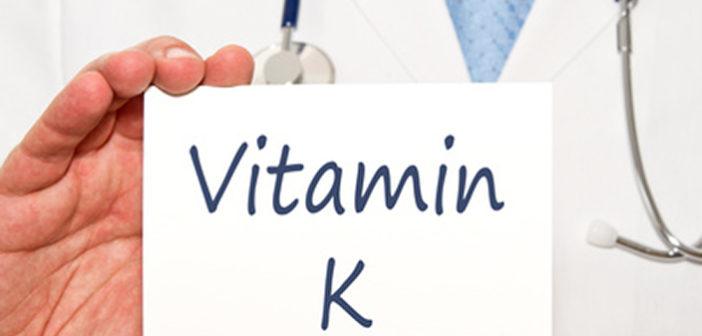 Vitamín K: Nejen srážlivost krve