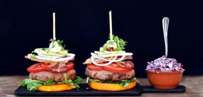 Burger v zelenině