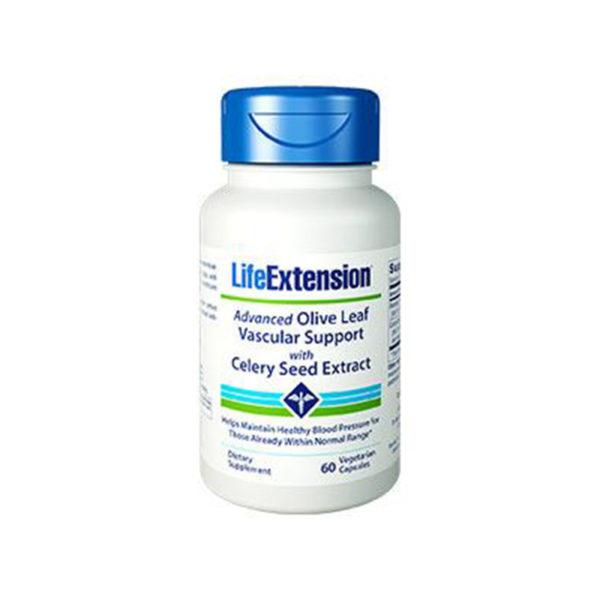 Advanced Olive Leaf Vascular Support with Celery Seed Extract - Olivový list s extraktem z celerových semínek