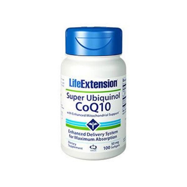 Super Ubiquinol CoQ10 with Enhanced Mitochondrial Support - Super Ubiquinol koenzym Q10 se složkou pro podporu mitochondrií