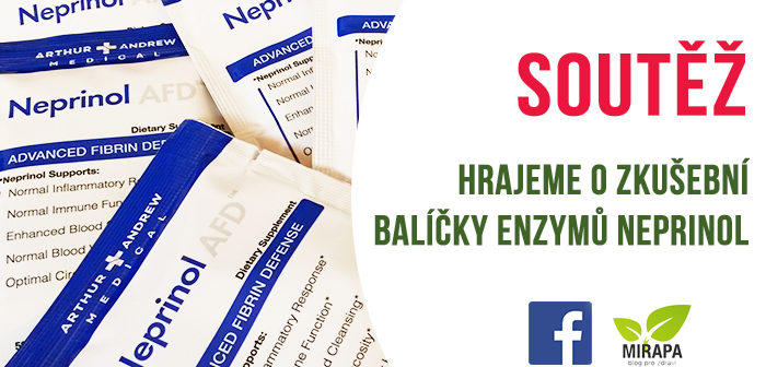 Soutěž o balíčky enzymů NEPRINOL