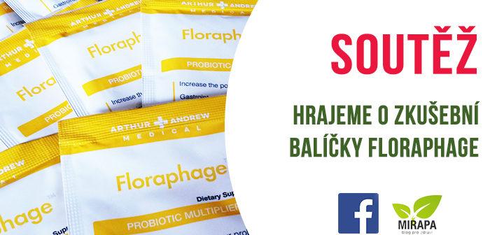 Soutěž o balíčky probiotik FLORAPHAGE