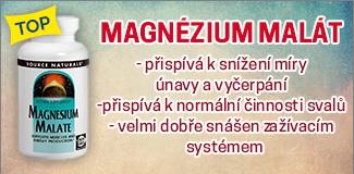 Eshop - Magnézium malát – Hořčík s kyselinou jablečnou